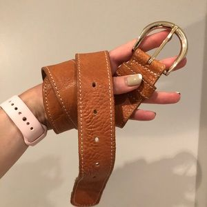 J. Crew leather belt size small